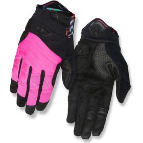Giro Xena Naiset Pyöräilyhanskat , vaaleanpunainen/musta